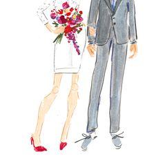 Date night.....Valentine's style   bbriggsillustration.etsy.com