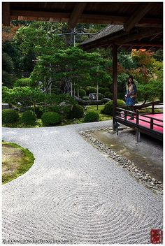 Manshu-in rock garden, Kyoto | More pictures of Kyoto (京都). | Flickr