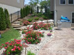 Gravel Instead of Mulch   ... types of rock & mulch that will accent the best features of your home