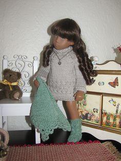 Ravelry: haemanthus' dress for Sasha doll She's cute, lover her hair
