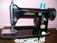 Admiral Sewing Machine