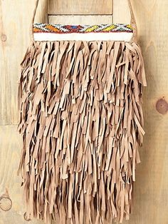 En Shallah Layers Fringe Satchel at Free People Clothing Boutique - StyleSays