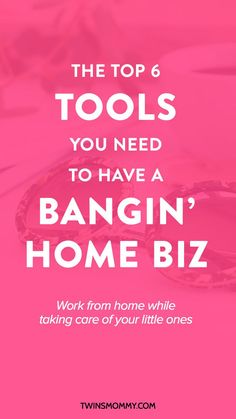 5 Essential Tools You Need to Successfully Work From Home – Do you work from home? In order to have a successful business, here are some work at home tip and tools you need!