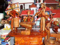 Artistas en madera. Hecho por manos Nicaraguenses