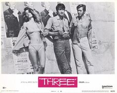 Charlotte Rampling, San Waterson and Robie Porter in Three.