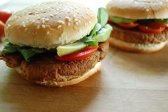 A blend of mushrooms, tofu, and cheese give these burgers a can't-believe-it's-not-meat texture and a savory flavor. Get the recipe here.    Per one burger: 317 calories, 4 g fiber, 22 g protein      Want recipes, healthy eating tips, and the latest in food and nutrition news delivered straight to your inbox? SELF's weekly food newsletter has you covered. Sign up now!
