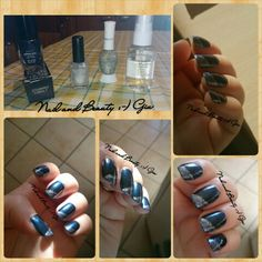 Night blue - https://nailandbeautygiu.wordpress.com/2015/01/07/night-blue/