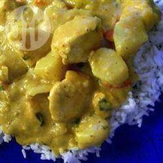 Frango com molho de curry @ allrecipes.com.br