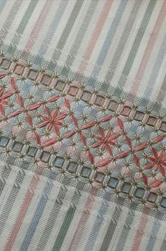 Hardanger Embroidery, Hand Embroidery Stitches, Silk Ribbon Embroidery, Hand Embroidery Designs, Embroidery Applique, Cross Stitch Embroidery, Embroidery Patterns, Quilt Patterns, Bordado Tipo Chicken Scratch