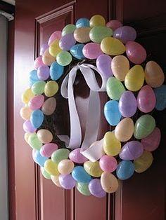 Cheap Easter wreath