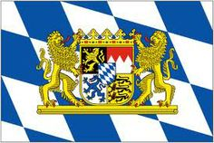 """Bavarian Flag (My German """"Family"""" is from this state.)"""