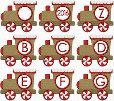 Gingerbread Train Monogram Embroidery Fonts, Machine Embroidery Designs, Gingerbread Train, Commercial Embroidery Machine, Christmas Embroidery Patterns, Line Design, Alphabet, Applique, Monogram
