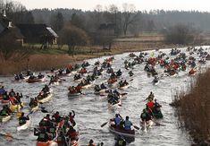 võhandu maraton start Kajakkal 100 km a Vohandu folyón  2018 április 21