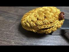 【100均レース糸】小さな小物ポーチ作ってみました☆飴入れなどに☆I made a small porch. - YouTube Small Zipper Pouch, Zipper Bags, Purse Patterns, Knit Patterns, Crochet Beret Pattern, Crochet Purses, Crochet Bags, Crochet Crafts, Small Bags