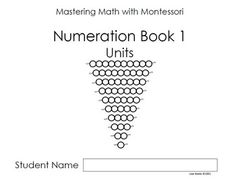 This is the first book in a series of Montessori beadbar math booklets I created for my preprimary students. As a public school Montessorian, I needed to prepare my students for the written work they would be expected to do as they moved through our program.