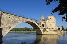 Avignon bridge Chers Parents, French Kiss, South Of France, Jaba, France Travel, Some Pictures, Bridges, Provence, Adventure Travel