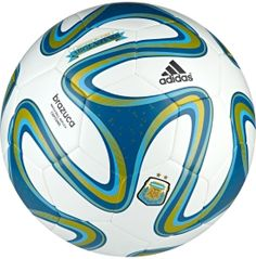 adidas Argentina World Cup Capitano Soccer Ball - Dick's Sporting Goods $24.99