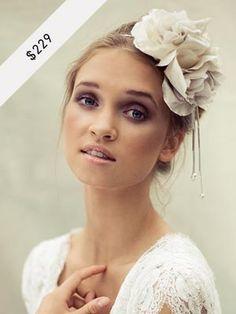 MARKETPLACE: Silk Double Rose - $229 #HatAcademy #millinery