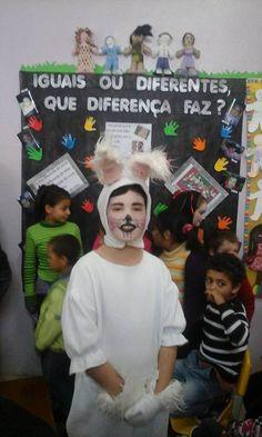 """Semana da Educação Infantil 2015 nas EMEIs """"Iguais ou diferentes, que diferença faz?"""""""