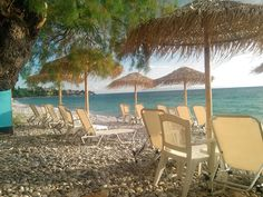 Summer 2015 Mikra Mantineia Greek Restaurants, Cafe Restaurant, Outdoor Furniture, Outdoor Decor, Summer 2015, Hammock, Greece, Patio, Home Decor