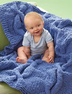 Welcome your newest addition home by learning how to knit a blanket designed with baby in mind. The Coziest Cables Blankie free printable features thick cables lining the front for a unique look you won't find anywhere else. If you don't have a baby to knit for at the moment, you can still cast on this beautiful knitted blankets.