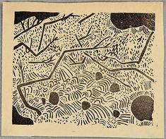 Shiko Munakata 1903-1975 - Oirase B - Han Geijutsu Vol. 12 - artelino ...