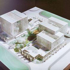 「Foot work走思客」以分享建築/室內/平面設計/字型/文創/科技為主的網路雜誌 Concept Architecture, Interior Architecture, Landscape Architecture Model, Hospital Architecture, Arch Model, Graduation Project, Master Plan, Urban Planning, School Design