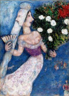La mariee a  double face -Exposition Marc Chagall, l'épaisseur des rêves - La Piscine – Musée d'art et d'industrie (Roubaix)