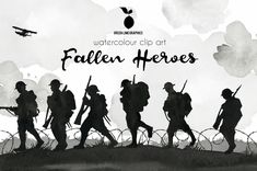 Anzac Soldiers, Small Soldiers, Fallen Soldiers, Fallen Heroes, Soldier Silhouette, Army Tattoos, Royal British Legion, Anzac Day, War Image