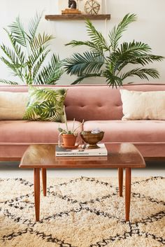 Our pretty in pink Riley sofa has us all blushing. | Patina