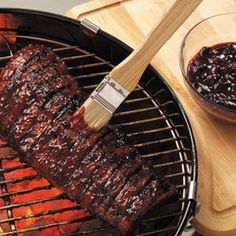 Cherry Barbecue Sauce Recipe from Taste of Home -- shared by Ilene Harrington of Nipomo, California