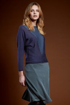 Find this beautiful knit-sweater by Firkant on www.nelou.com!