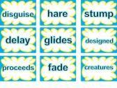 SRA Imagine It! 2nd Grade Unit 4 Look Again Word Cards