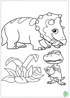 Free Dinosaur Train Coloring Pages