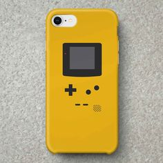 ac8c8b83cc Gameboy Color Yellow iPhone Case for iPhone 6, iPhone 7, iPhone 8 and iPhone