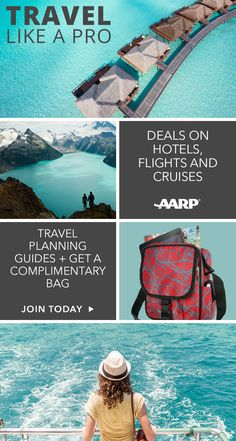 Joining AARP online is fast and secure and anyone 50 or over can get all the great benefits of membership for just $16 a year. As well as this complimentary day bag, you'll also receive deals on flights, hotels, cruises and rental cars, as well as savings on dining, entertainment, shopping and so much more. Join AARP today!
