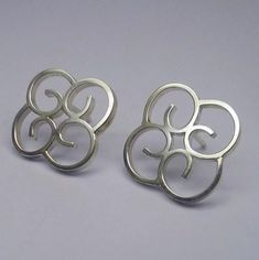 Kleine zilveren oorstekers. #silverearring