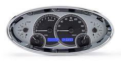 Dakota Digital Universal Elliptical Oval Analog Gauges Dash System Kit VHX-1017