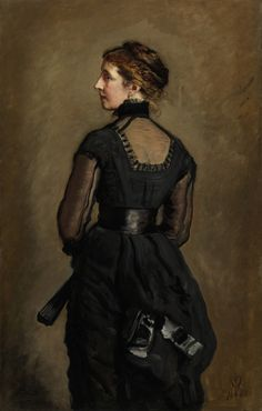 John Everett Milllais - Portrait of Kate Perugini, Daughter of Charles Dickens [1880] | by Gandalf's Gallery