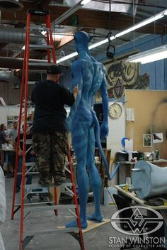 Behind the Scenes of AVATAR - Part Two | Stan Winston School of Character Arts