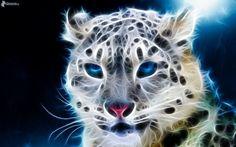 Electric Fractal Animals