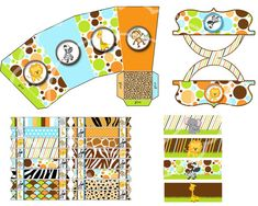Safari birthday party jungle party zoo party by blueangeldigitals