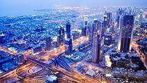объединенные арабские эмираты дубай панорама