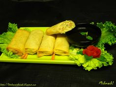 Egg Rolls with Sweet & Sour Sauce | Mishmash