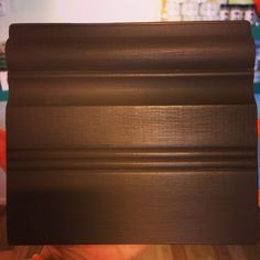To make a dark brown like an Espresso color mix Graphite & Barcelona Orange Chalk Paint® decorative paint by Annie Sloan | By stockist HUE Oxford in Oxford, MS.