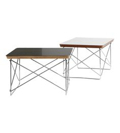 Buy the LTR Occasional Table White by Charles & Ray Eames and more online today at The Conran Shop, the home of classic and contemporary design Low Tables, Classic Furniture, Furniture Sale, Room Set, Home Decor Inspiration, Eames, Contemporary Design, Sweet Home, Chrome
