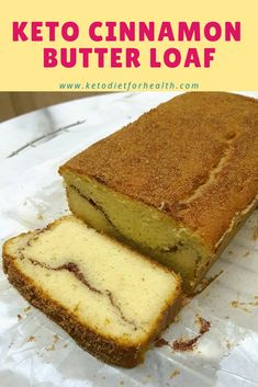 Made this recipe tonight and I had to add quadruple the amount of water to get it to be even close to a batter consistency. Maybe instead of 4 tablespoons, it should be 4 teaspoons. KETO CINNAMON BUTTER LOAF - Low Carb Diet World Desserts Keto, Keto Snacks, Keto Cookies, Ketogenic Recipes, Low Carb Recipes, Ketogenic Diet, Coconut Flour Recipes Keto, Cream Cheese Keto Recipes, Diet Recipes