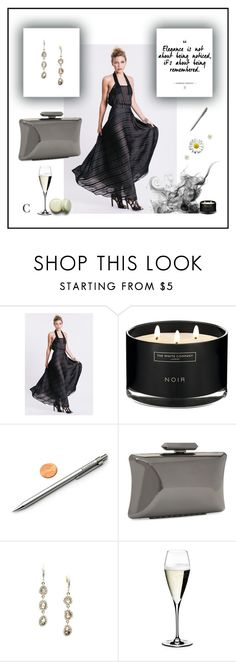 """""""Elegant Candy"""" by couturecandy ❤ liked on Polyvore featuring The White Company, Treesje and Riedel"""