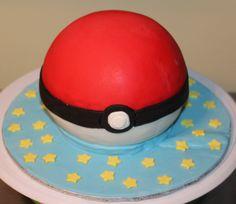 Gâteau balle pokémon
