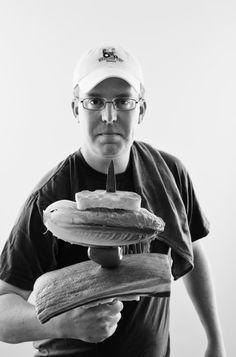 Matt Balke of Bolsa Restaurant (Photo by Kevin Marple) #chefs #Portraits #chefsportraits
